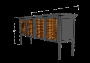 Black Credenza Build Brian Benham