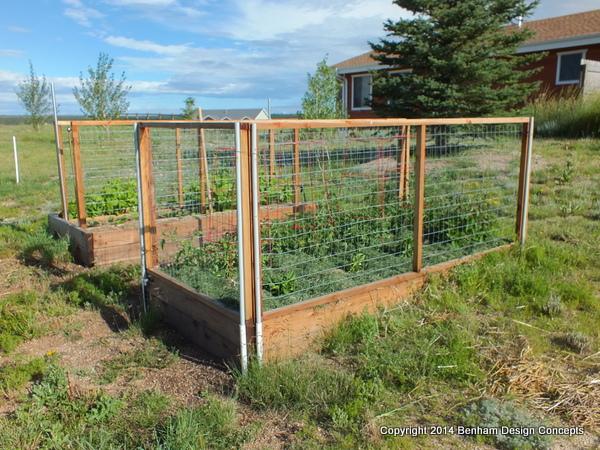 Rabbit Fence Around Vegitable Garden. Published August 15, 2014 At 600 ×  450 ...