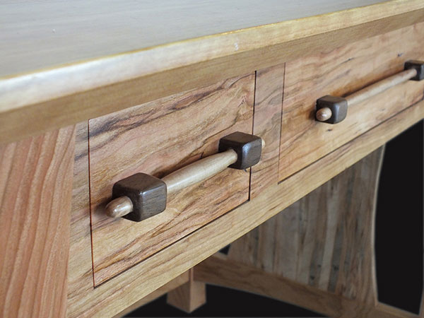 Handle build for Desk | Brian Benham